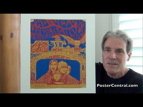 Velvet Underground 1967 Concert Poster Board – Boston Tea Party