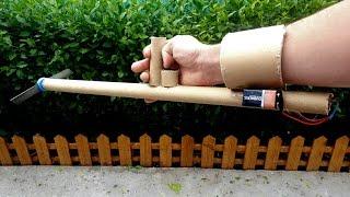 How to Make A Powerful Hand Grass Cutter Machine