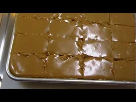 Peanut Butter Sheet Cake Recipe ~ Noreen's Kitchen