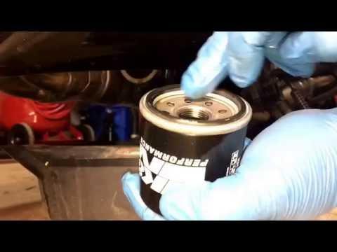Kawasaki Z1000 oil change, street bike oil change