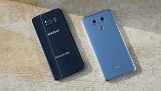 LG G6 vs Samsung Galaxy S7 edge!