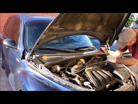 How to Replace Thermostat and Cooling Fan -  PT Cruiser