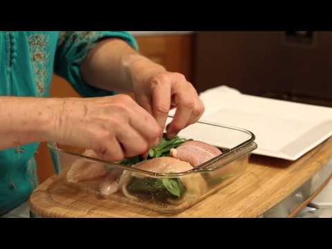 Chicken Breast With Spinach Recipe : Tasty Meals
