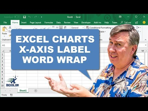 Learn Excel - Chart X-Axis Labels Word Wrap - Podcast 1797