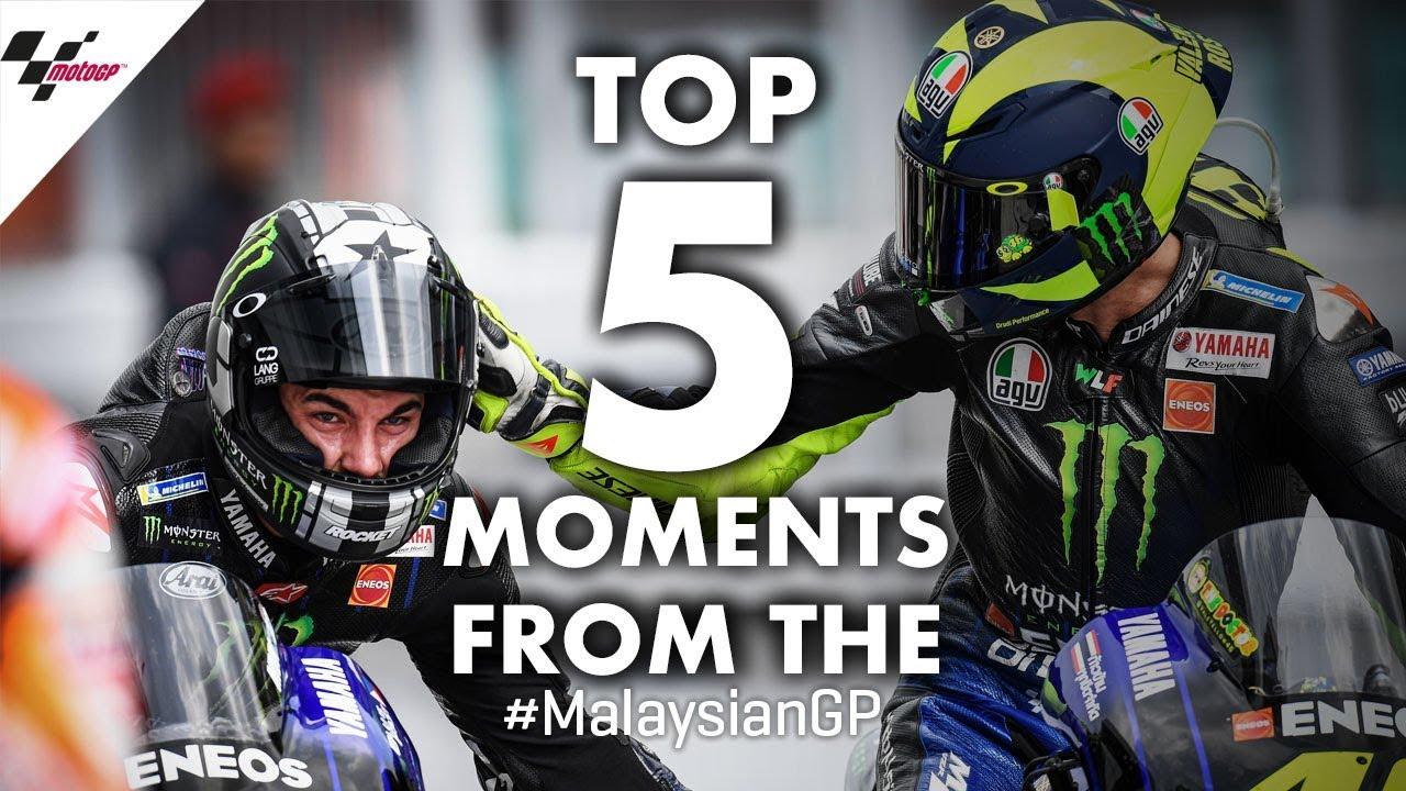 2019 #MalaysianGP Top 5 Moments