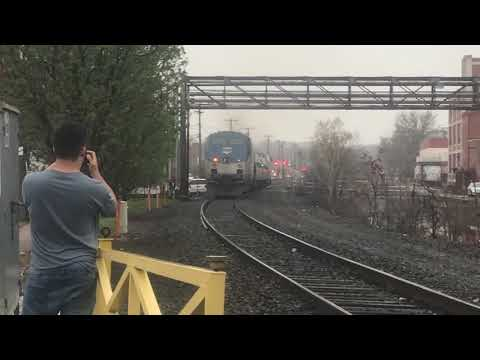 Railfanning On The Springfield Line With CT Rail Videos