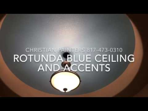 Rotunda Blue Ceiling and Accents