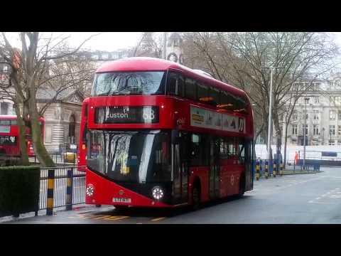 Full Route Visual~68: Euston Station - West Norwood
