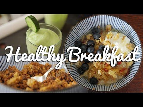 Three Healthy Breakfast Ideas - Crumbs