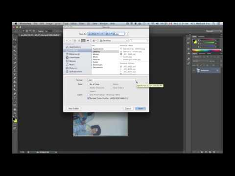 how to Convert bmp image file to Jpg pdf tiff image file Using Photoshop Cs6