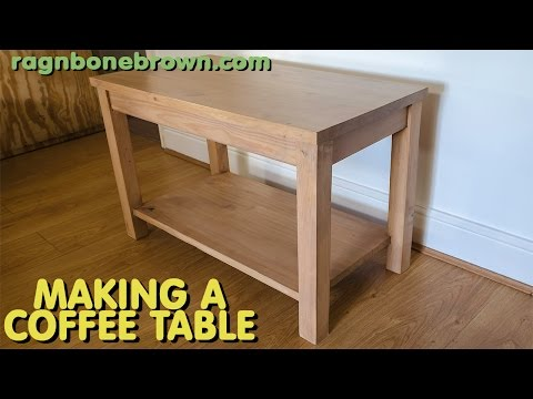 Making a coffee table out of a bed headboard