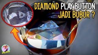 GAK MIKIR..!! HANCURIN DIAMOND PLAY BUTTON  DARI YOUTUBE