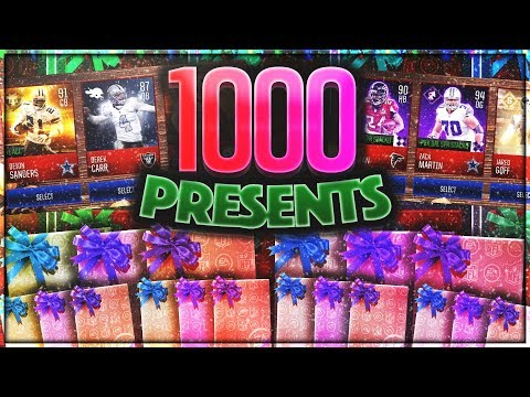1000 PRESENT OPENING?! EVERY ELITE GIFT!! HOLY CRAP, RAREST ELITE PULLS EVER!!!! Christmas Day!