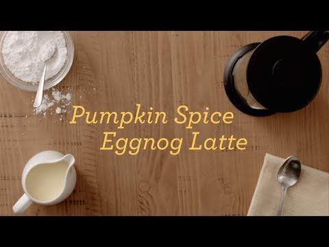 Kemps Pumpkin Spice Eggnog Latte Recipe