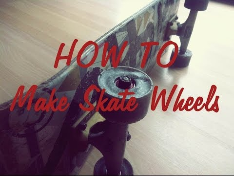 How to make skate/longboard wheels - Tutorial