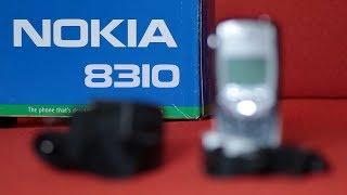 Nokia 8310 unboxing