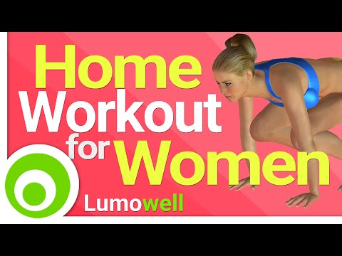 Home Workout for Women. Burn Fat and Tone your Body.