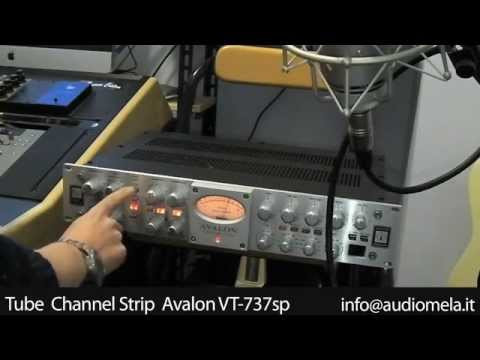 Audiomela - Avalon VT-737sp Tube Channel Strip Neumann TLM103 (demo registrazione chitarra acustica)