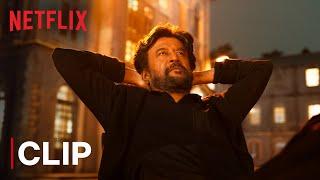 Rajinikanth Petta Church Fight | Mass Scene | Netflix India