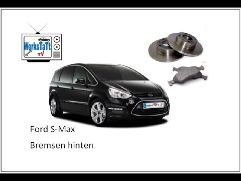 ►Ford S-Max / Galaxy◄ Bremsen hinten wechseln [Change brake disk and pads rear Axle]