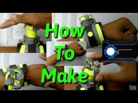 How to Make Omni Enhanced Aliens - Omnitrix | DIY upgraded Omnitrix