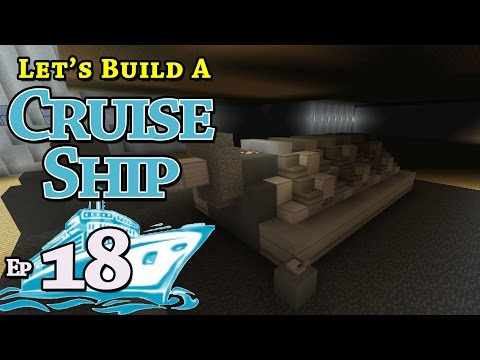 How To Build A Cruise Ship :: Minecraft :: E18 :: Z One N Only