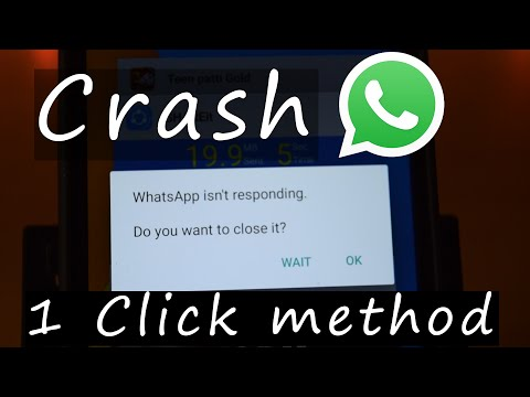 How to Crash Anyone's WhatsApp with 1 Special msg.