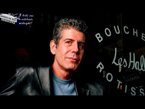 Anthony Bourdain, celebrity chef and CNN