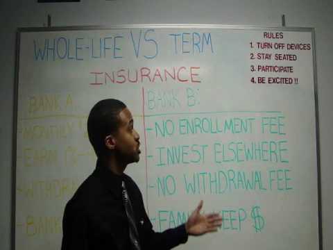 Whole-Life VS Term Life Insurance
