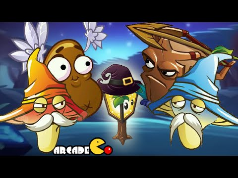 Plants Vs Zombies 2: ALL New Plants New Costumes Power Up
