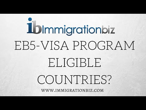 Green card to the USA | EB5 Visa eligible countries?