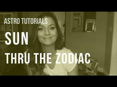 ASTRO TUTORIAL: Sun Thru the Zodiac