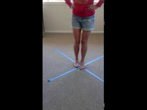 Ankle Sprain Exercise - X Excursion Exercise