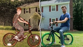 We Return To Our Childhood Homes