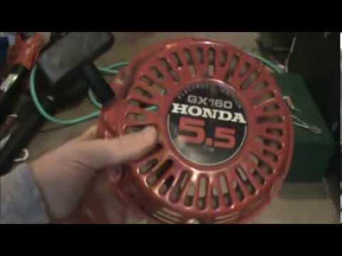 Honda GX160 Pull Starter Rope Repair