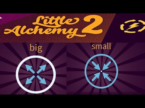 Little Alchemy 2 How To Make SMALL and BIG