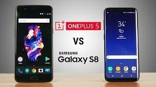 OnePlus 5 - Faster than Samsung Galaxy S8??? Speedtest Comparison!
