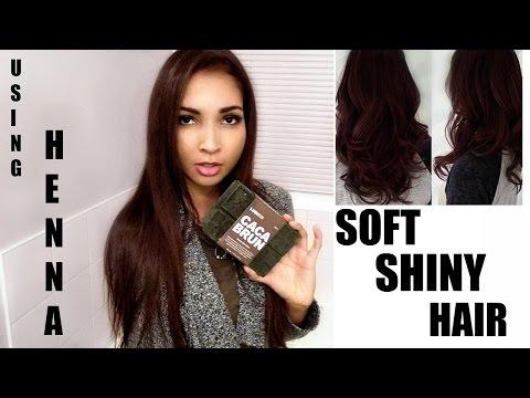 LUSH HENNA DYE REVIEW | Does it work on dark hair?