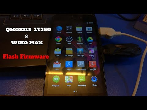 Qmobile LT250 and Wiko Wax Firmware Installation Method