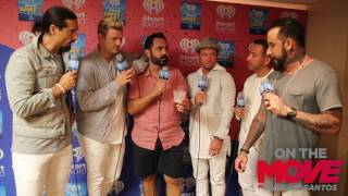 Backstreet Boys sing Despacito with Enrique Santos at  iHeart summer 17