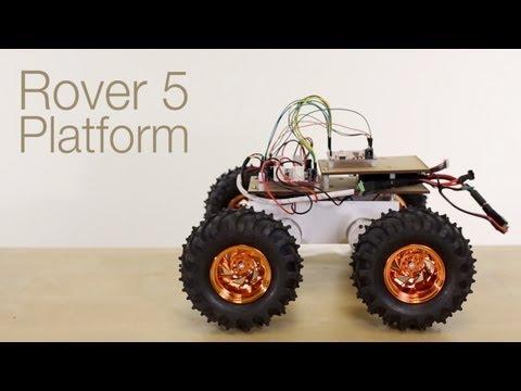 SparkFun Autonomous Vehicle Competition Robot Build Part 1