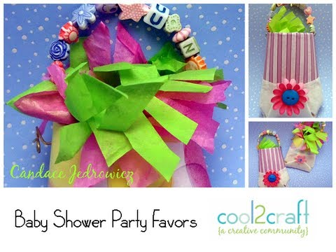 How to Make a Baby Shower Party Favor Pouch by Candace Jedrowicz