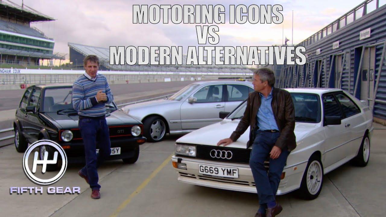 Motoring Icons: Golf GTI, Audi Quattro & Merc E55 VS their modern alternatives | Fifth Gear