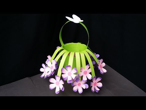 DIY: How to Make Beautiful Flower Bouquet With Colour Paper!!!