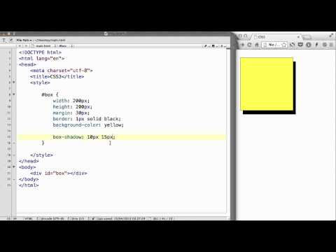 CSS3 - 06. Box-shadow