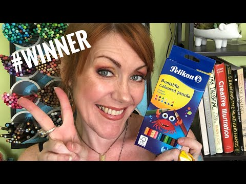 ✏️Pelikan Giveaway WINNER + MORE CHANNEL ANNOUNCEMENTS! ✏️