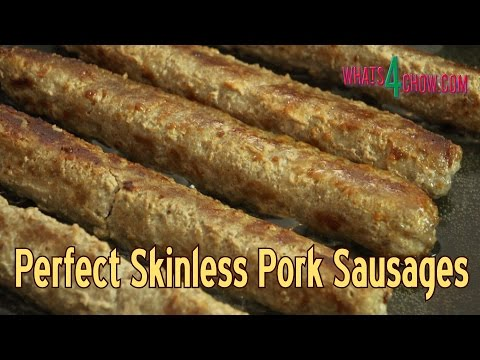 How to Make Perfect Skinless Pork Sausages - Simple Skinless Sausage Trick