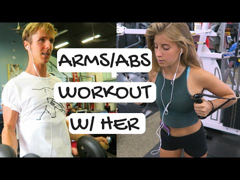 Abs & Arms // Workout with Alyse!