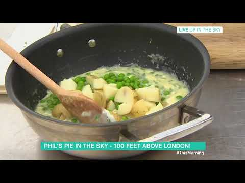 Phil Vickery's Summer Chicken and Tarragon Filo Pie | This Morning