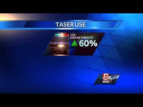 Police Taser use spikes in Bay State
